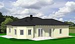 Winkelbungalow mit Lichterker 106 m² Wohnfläche 4 oder 3 Zimmer