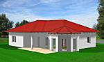 Winkelbungalow 117 mit Erker; 117 m² Wohnfläche