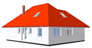 Winkelbungalow 134 plus mit Erker; 134 m² Wohnfläche
