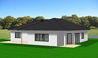 fertighaus 150 qm mit berdachter terrasse die neuesten innenarchitekturideen. Black Bedroom Furniture Sets. Home Design Ideas