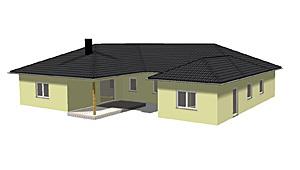 fertighaus bungalow mit einliegerwohnung. Black Bedroom Furniture Sets. Home Design Ideas